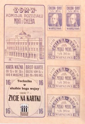 Katalog wystawy -  Życie na kartki