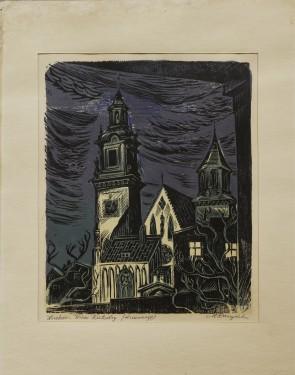 Kraków - Wieże Katedry
