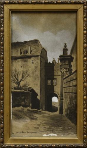 Wawel - Brama Wazów