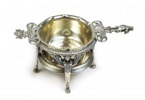 Komplet srebrny do herbaty