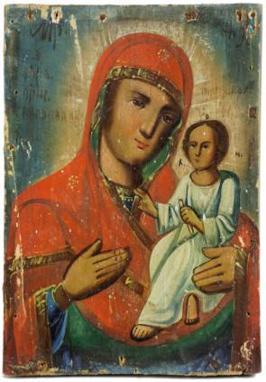 Ikona - Matka Boska Tychwińska