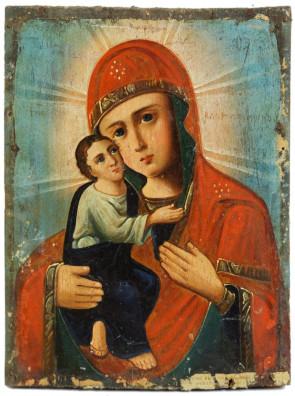 Ikona - Matka Boska Włodzimierska