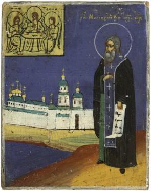 Ikona - Święty Makary