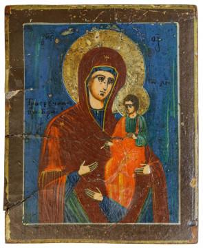 Ikona - Matka Boska Trójręczna